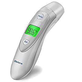 Metene-Medical-Forehead-and-Ear-ThermometerInfrared-Digital-Thermometer-Suitable-for-Baby-Infant-Toddler-and-Adults
