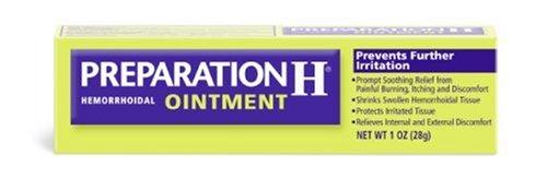 Préparation H hémorroïdaire Pommade, Tubes de 1 once (Pack de 3)