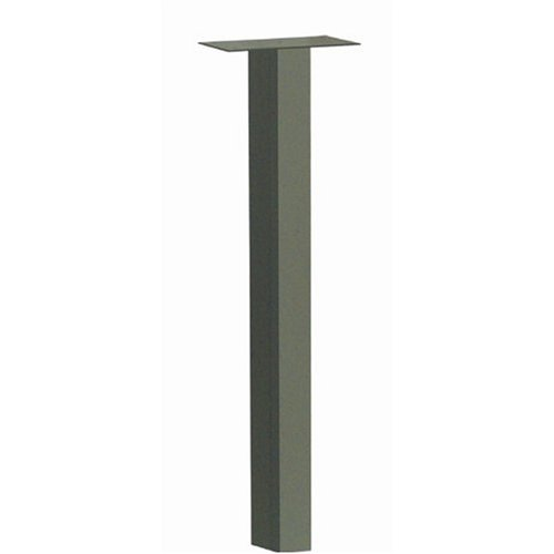 Architectural Mailboxes Coronado In-ground Standard Mailbox Post, Graphite - Post Treated Mailbox