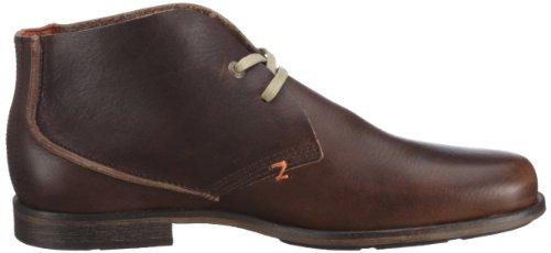 Hub Spurs L PT-653-007 L-L02-02 - Zapatos casual de cuero para hombre Marrón