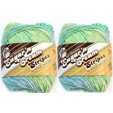 - Bulk Buy: Lily Sugarn Cream Stripes (2-pack) (Country Stripes)