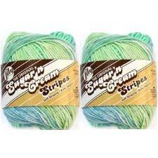 Bulk Buy: Lily Sugarn Cream Stripes (2-pack) (Country Stripes)