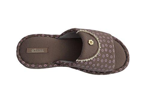 Zapatillas Ezstep Mujeres Daisy Marrón