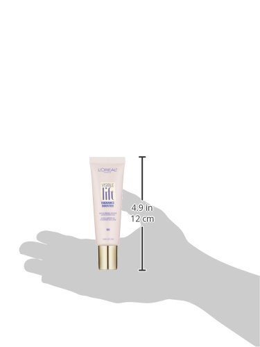 L'Oréal Paris Makeup Visible Lift Radiance Booster, skincare-based primer, 24hr hydration, instantly brightens, smoothes and evens skin, radiant finish, enriched with nourishing oils, 0.84 fl. oz. by L'Oreal Paris (Image #3)