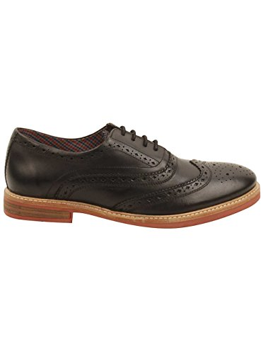 Ben Sherman Brent Wingtip Oxfords I Sort Sort