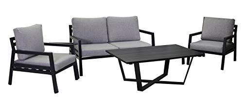 adami - Juego de salón de jardín de Aluminio, sofá de 2 ...