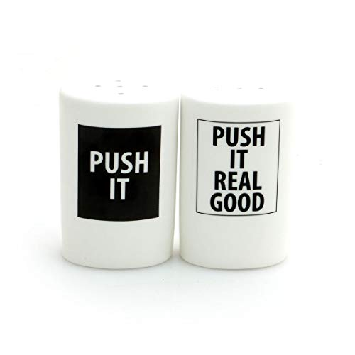 (Push it Real Good Salt and Pepper Shaker Set)