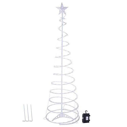Spiral Lighted Trees For Outdoors in US - 9