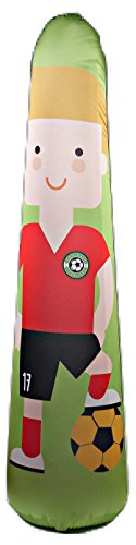BONK FIT High Performance Polyurethane Inflatable Target, PVC-Free Pop Up Training Mannequin with One Year Warranty and Machine Washable Cover - Soccer 5ft (3' Tough Stain Tool)