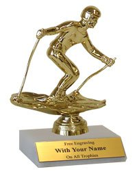 "6"" Downhill Skiing Trophies"