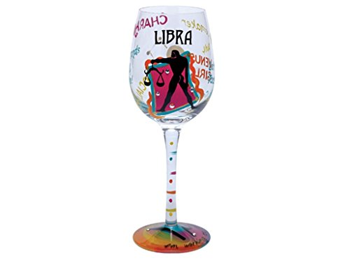 Santa Barbara Design Studio Lolita Holiday Mini-Wine Ornament, Libra -