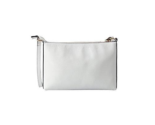 Classic Pu Girls White Modern Medium Leather Sept Lightweight Miracle Bag Womens Crossbody Shoulder wUq7xvE07