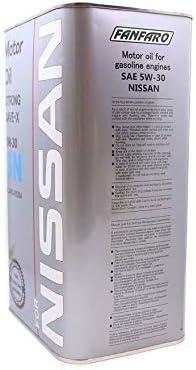 OEM Fanfaro 5W-30 SN Aceite de motor de 4 litros y FF6709-4ME, KLAN3-05304, KLAN305304: Amazon.es: Coche y moto
