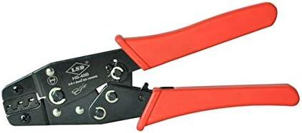 ケーブルカッター 圧着ペンチ オープンプラグコネクタ用 ケーブルバレル 端子タブ 0.14-1.5mm²圧着工具 手動ケーブルカッター