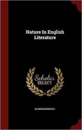 Nature In English Literature