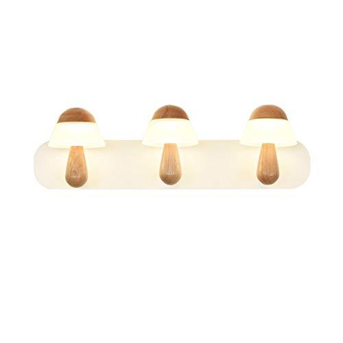 QEDDSDAD LED Mirror Light Cabinet Light, Simple Makeup Light Bathroom Wall Light, - Bathroom Mirrors Cabinet Beech