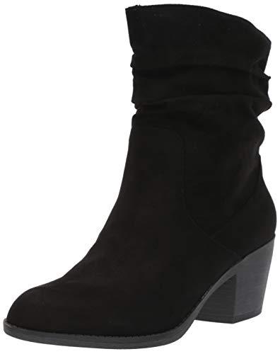 Rocket Dog Women's SASSILY Coast Fabric Fashion Boot, Black, 8.5 M - Slouch Boots