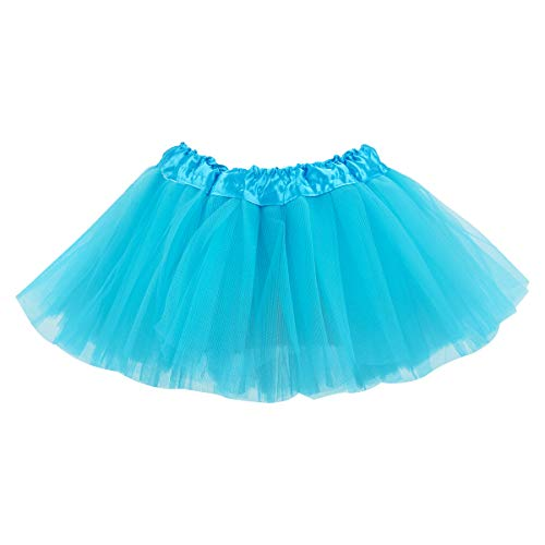 belababy 24 Months Baby Girls Tutu Skirt 5 Layers Tulle, Blue]()