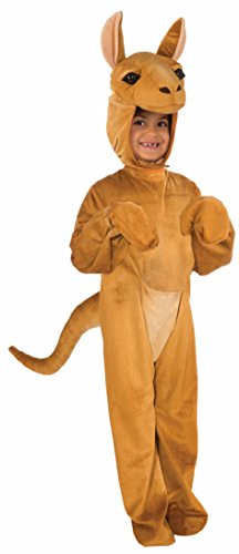 Forum Novelties Kids Plush Kangaroo Deluxe Costume,