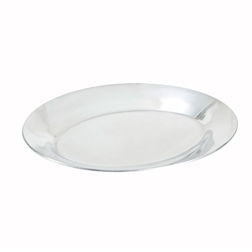 - Winco APL-10 Aluminum Sizzling Platter, 10-Inch by Winco
