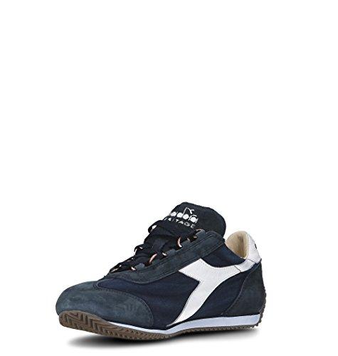 Diadora Heritage Sneakers Uomo 156988EQUIPE60062 Cotone Blu