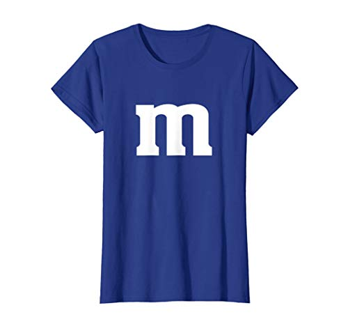 Womens M Chocolate Candy Halloween Team Costume Funny Party Woman's T-Shirt