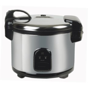Commercial 30 Cup Stainless Steel Electric Rice Cooker Kitchen Dining