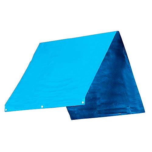 Replacement Tarp (TANCHEN 52inches x 90inches Playset Canopy Replacement Outdoor Swingset Shade Kids Playground Roof Canopy Waterproof Cover Replacement Tarp Sunshade)