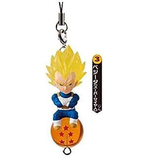 BANDAI OFFICIAL Dragon Ball Z Llavero Goku Super Saiyan 4 cm ...