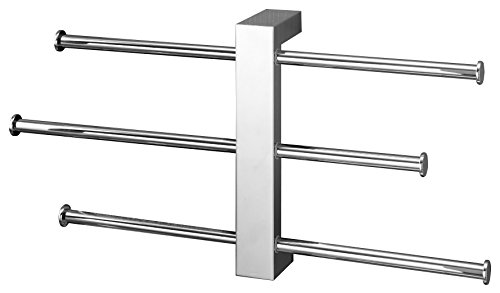 Nameeks 7630-13 15.98-Inch Bridge Rack Towel Bar, Chrome from Nameeks