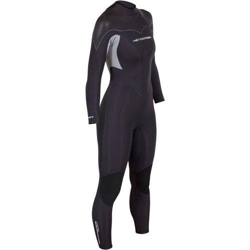 Henderson Women's Thermoprene Pro Wetsuit 3mm Back Zip Fullsuit Black ()