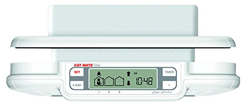 cat mate elite microchip cat door with timer control instructions