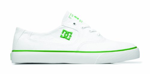 DC FLASH TX SHOE D0302911 Herren Sneaker Weiß (WHITE / EMERALD)