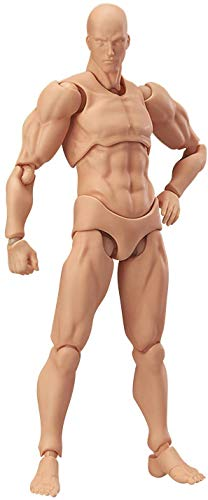Max Factory Figma Archetype Next Male Action Figure (Flesh Colored Version) (Max Factory Figma Archetype Next Male Action Figure)