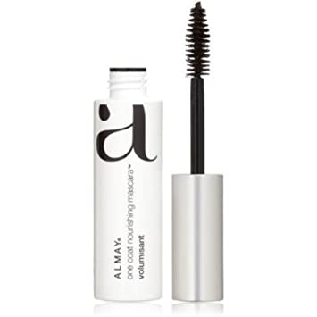 2537aac8c77 Amazon.com : Almay One Coat Thickening Mascara, #403 Black Brown - 0.4 Oz,  Pack of 2 : Beauty