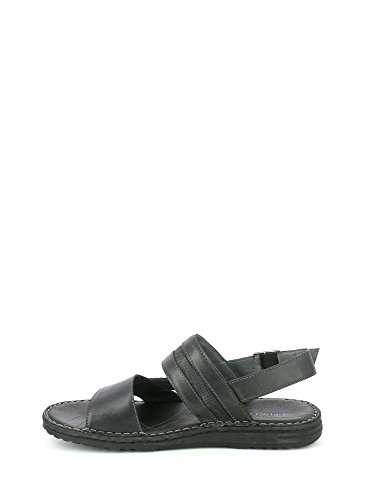 Grunland SA1624 Sandals Man Black qavKo
