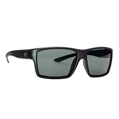 Magpul Explorer Sunglasses Frame/Gray-Green Lens, Polarized, Matte Black, Gray-Green ()