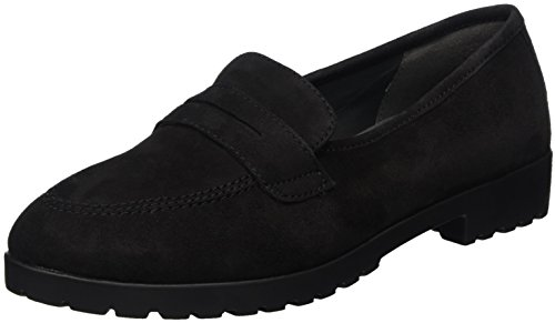 Caprice 24650, WoMen Loafers Black (Black 001)