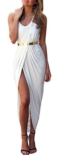 Buy belted halter maxi dress - 8