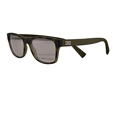 45d2cea1de13 Armani Exchange AX3039 Eyeglasses 54-18-145 Matte Havana Grey w Clear Demo