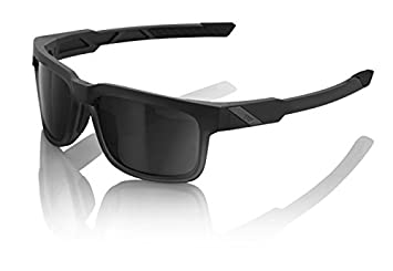 Inconnu 100% Type S Brille Unisex Erwachsene, STARCO/schwarz/transparent/Display Smoke Grau