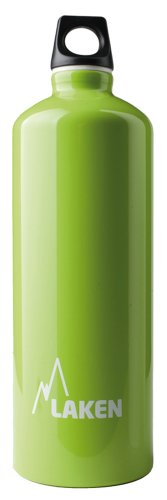 Laken Futura Water Bottle Narrow Mouth Screw Cap with Loop - 34 oz, Apple Green ()