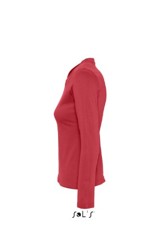 SOL´S Womens Long Sleeves-T Majestic, Größe:M, Farbe:Red