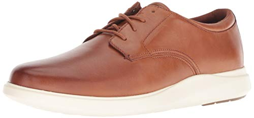 Cole Haan Men's Grand Plus Essex Wedge OX Oxford, British tan/Ivory, 9 M US