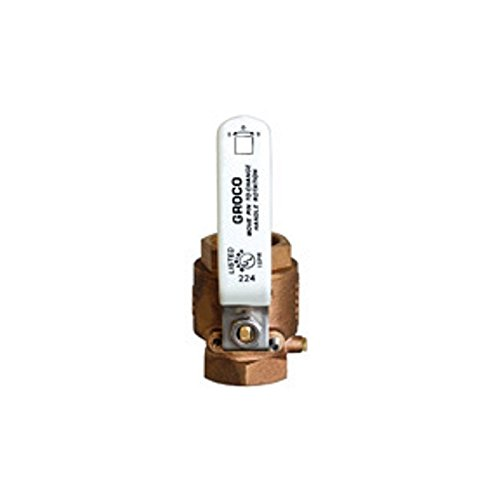 Groco FULL-FLOW IN-LINE BALL VALVES IBV SERIES - BRONZE by Groco
