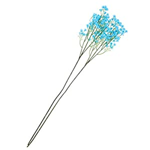 Vosarea 10PCS Artificial Starry Flowers Simulation Plants for Decoration Cemetery Wedding Home Road Lead Flower Wall Fake Flower 11