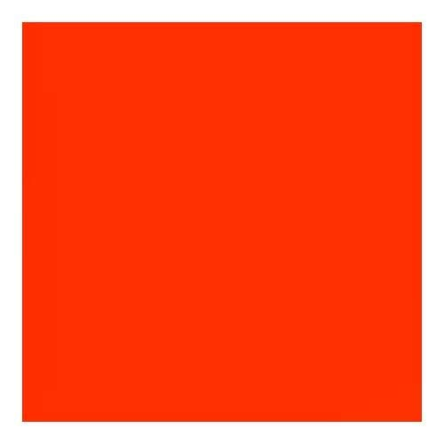 Lee Filters Flame Red 48'' x25' Roll Gel Filter by Lee Filters