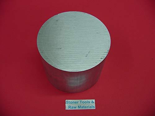 6'' Aluminum 6061 Round Rod 2.5'' Long T6511 6.00'' Diameter Solid Lathe Bar Stock
