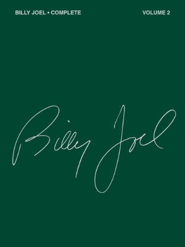 Rock Billy Songs - Billy Joel Complete - Volume 2 Songbook