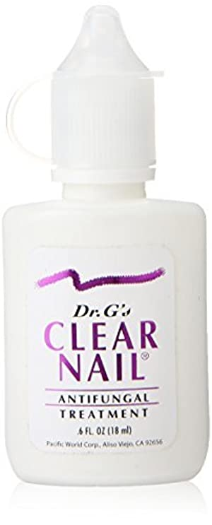 Dr. G's Clear Nail Antifungal Treatment, 0.6 Ounce Bottle by Dr. G's